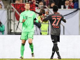 Neuer glänzt: Bayern im Finale