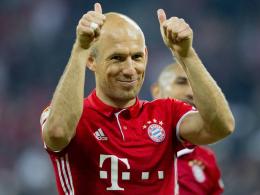 FC Bayern verlängert mit Arjen Robben