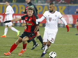 Rippenprellung: Bayern bangen weiter um Vidal