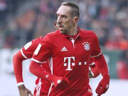 Dribbelkünstler Ribery fehlt zwei Wochen