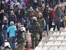 Schalker Fans in Auseinandersetzungen verwickelt