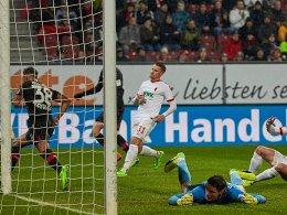 Augsburg 2017: Fünf Spiele, fünfmal 0:1