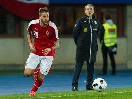 Österreichs Trainer nimmt Burgstaller wieder ins Visier
