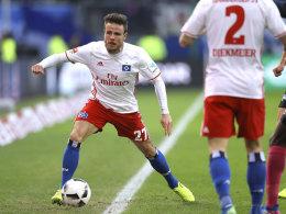 Ein kleiner Schritt für HSV-Topscorer Müller