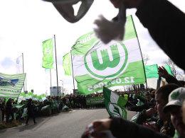 Wolfsburger Fan-Empfang: