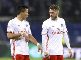 Rückkehr offen: HSV vorerst ohne Wood und Hunt