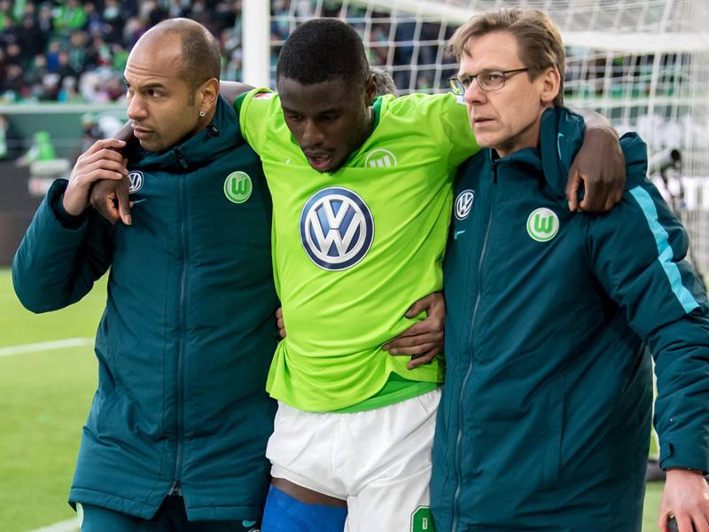 Wolfsburgs Ntep am Oberschenkel verletzt