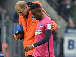 Hertha BSC: Muskelfaserriss bei Kalou