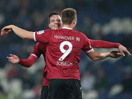 Schalke verliert Test in Hannover