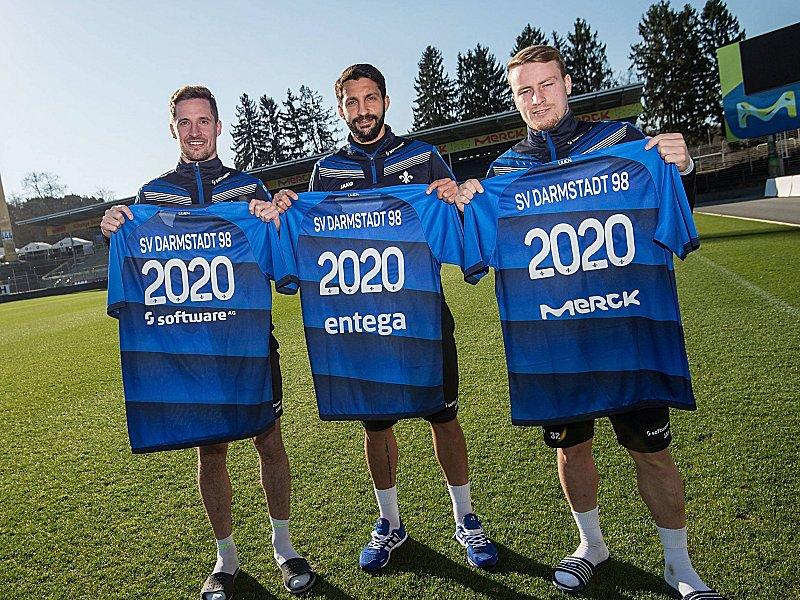 Darmstadt 98 verlängert Verträge mit drei Top-Sponsoren