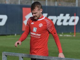 Brosinski bricht Training ab