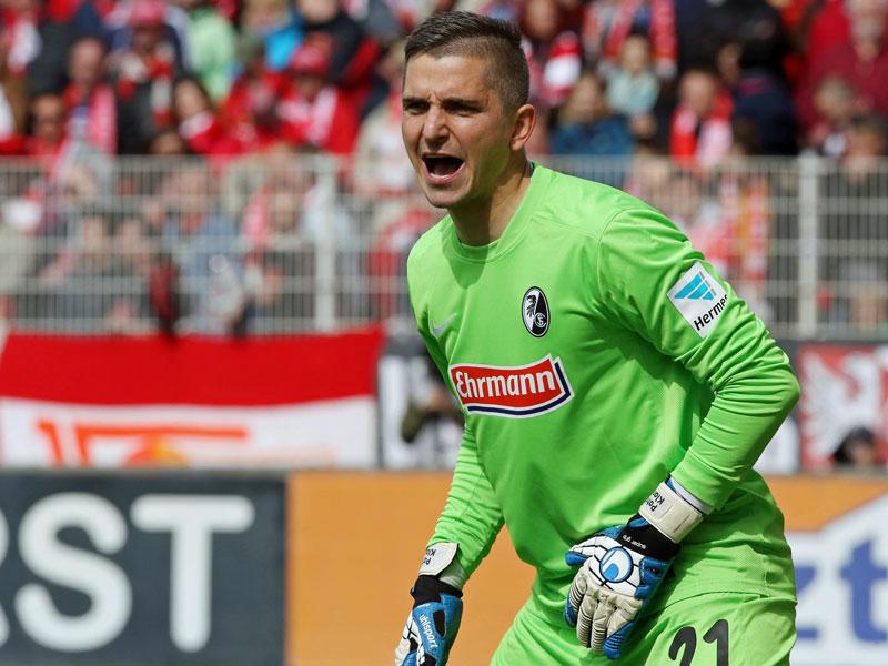 SC Freiburg verlängert Vertrag mit Ersatztorhüter Klandt