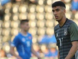 Eintracht-Youngster Barkok will Europameister werden