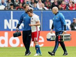 Das Knie: HSV bangt um Müller