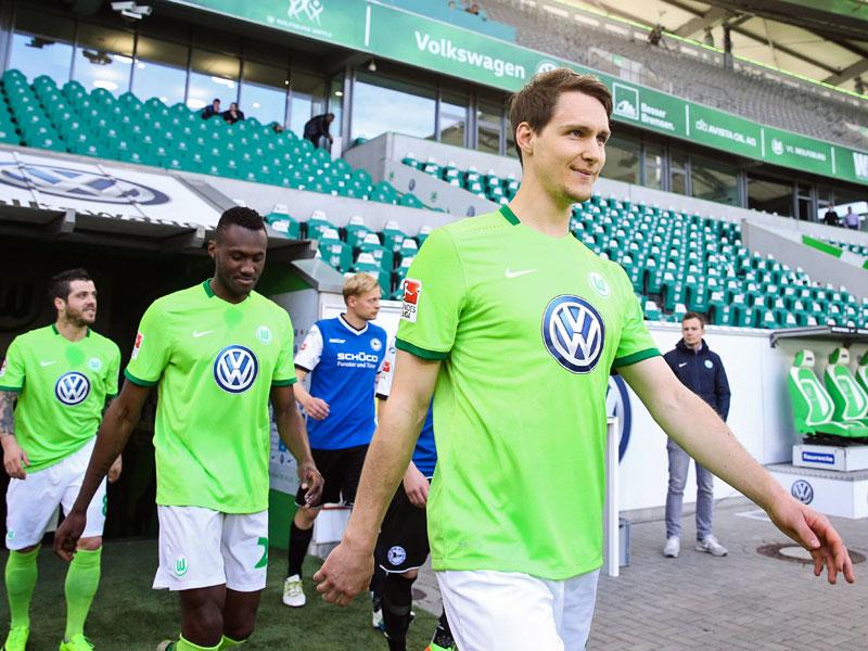 Leverkusen und Wolfsburg spielen 3:3