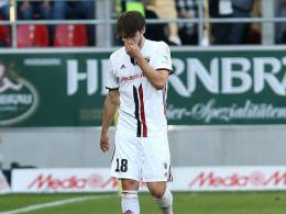 Zwei Spiele Sperre für Ingolstadts Bregerie