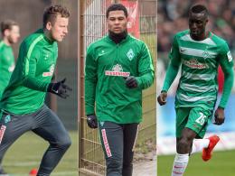 Gnabry, Sané und Bargfrede zurück im Training
