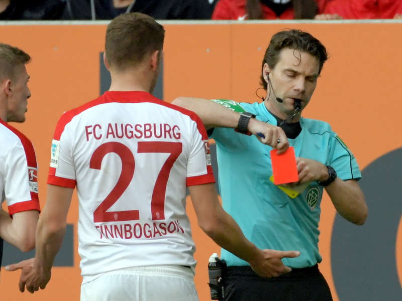FC Augsburg: Ein Spiel Sperre und Geldstrafe für Alfred Finnbogason