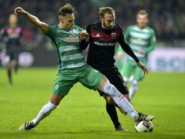 Werder-Verteidiger Bauer erwartet ein