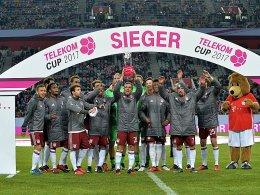 Telekom Cup: Bayern und Gladbach dabei