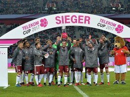 Telekom Cup: FCB vs. 1899, Gladbach gegen Bremen