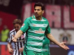 Pizarro-Abschied bei Werder? Baumann baut vor