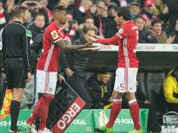 Nach Pokal-Spiel: Boateng hat Gesprächsbedarf