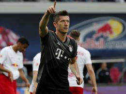 Tore statt Worte: Lewandowski jagt die nächste Kanone
