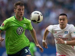 2:1 in der 88. Minute: Waldschmidt rettet den HSV