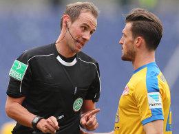 Stegemann pfeift Relegationsspiel in Wolfsburg