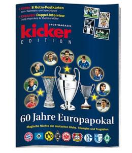 """Dieser Text erschien zuerst in der kicker-Edition """"60 Jahre Europapokal""""."""