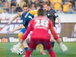 LIVE! Braunschweig aggressiv - Nyman vergibt