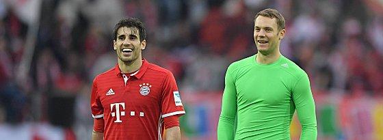 Javi Martinez und Manuel Neuer