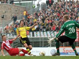 Spiel der Partnerstädte: BVB hilft Zwickau erneut