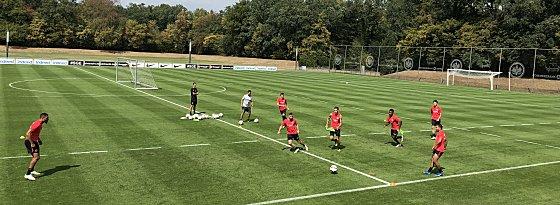 Das Training der Ausgemusterten: Falette, Fabian, Hrgota und Co.