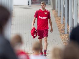 Das Sprunggelenk: Sorgen um Sven Bender