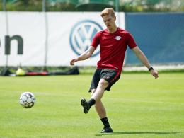 Leipzig: Halstenberg zurück im Mannschaftstraining
