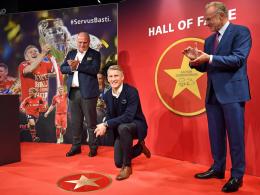Schweinsteiger als 18. Spieler in der Hall of Fame