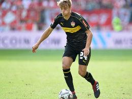 VfB-Coach Korkut erklärt seine Gedankenspiele mit Sosa