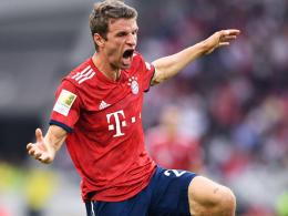 Die Top-Elf: Nur Müller ist wieder dabei