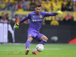 Bürki zerknirscht: Noch nicht im Mannschaftstraining