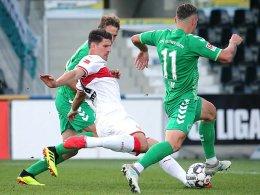 VfB darf Tore feiern: Gomez trifft doppelt