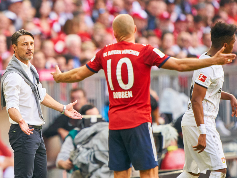 """""""You have to be careful"""": Robben warns about Benfica"""