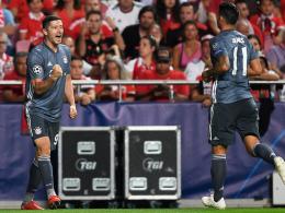 LIVE! Benfica-Fans klatschen: Sanches macht das 2:0!