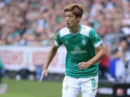 Magen-Darm-Probleme: Osako fehlt Werder