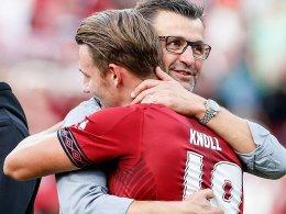 FCN: Knölls Traum beruhigt Köllners Nerven