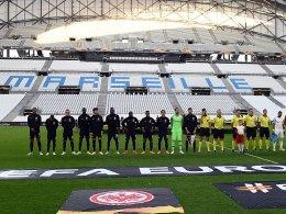 Eintracht geht gegen Marseille vor