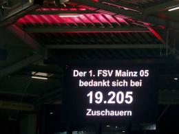 Kleinste Kulisse seit 2011: Mainz macht sich