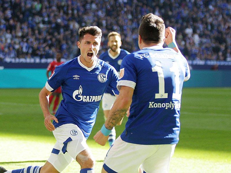 Alessandro Schöpf trifft auf Schalke
