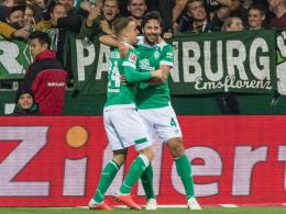 Kohfeldt übt Kritik - und lobt Pizarro